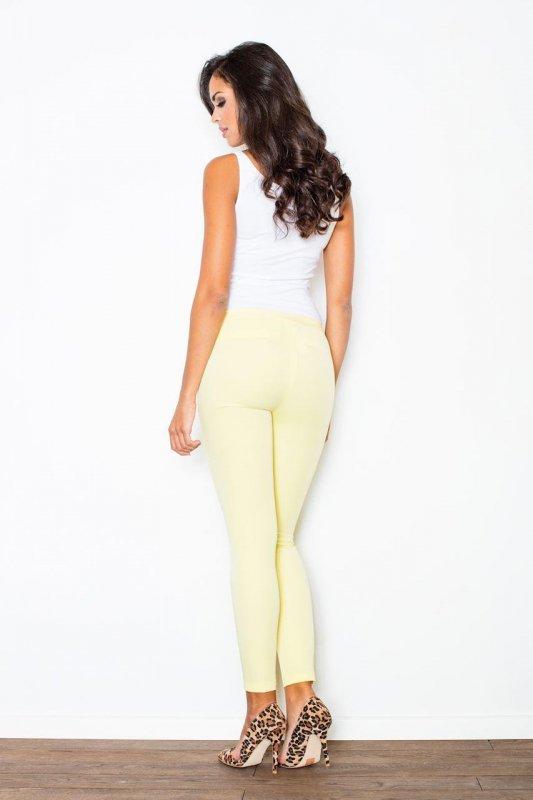 Spodnie Damskie Model 293 Yellow - Figl