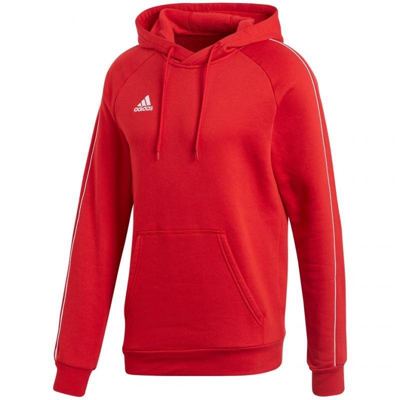 Bluza adidas CORE 18 HOODY M CV3337 czerwona