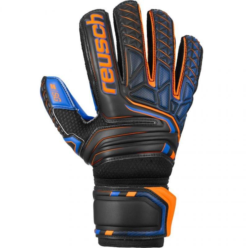 Rękawice bramkarskie Reusch Attrakt SG Extra Finger Support 5070830 7083