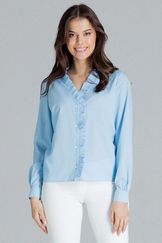 Bluzka L077 Niebieski XL