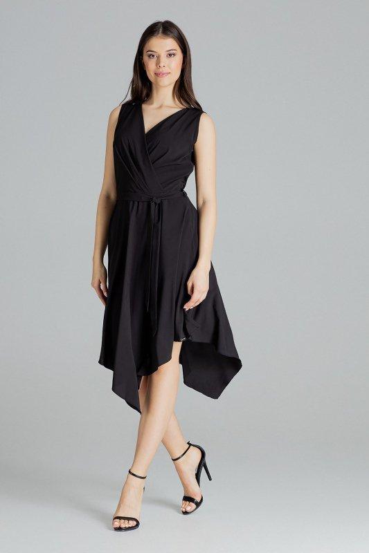 Sukienka L080 Czarny L