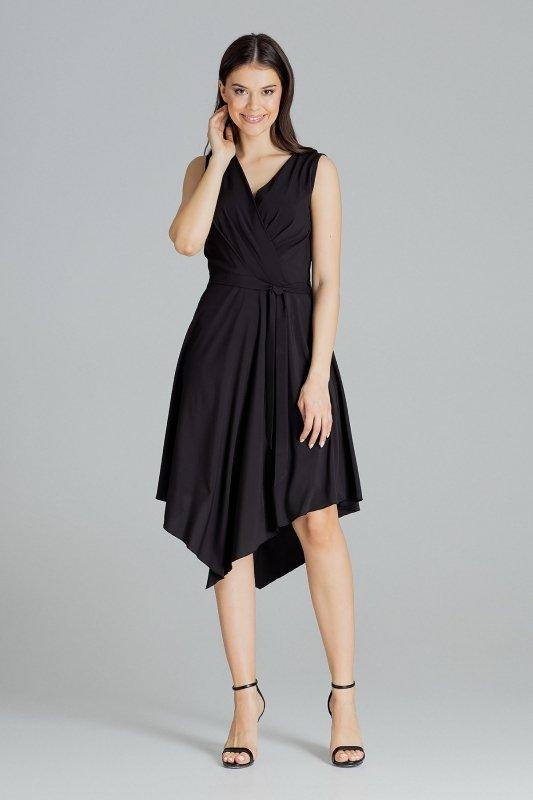 Sukienka L080 Czarny S