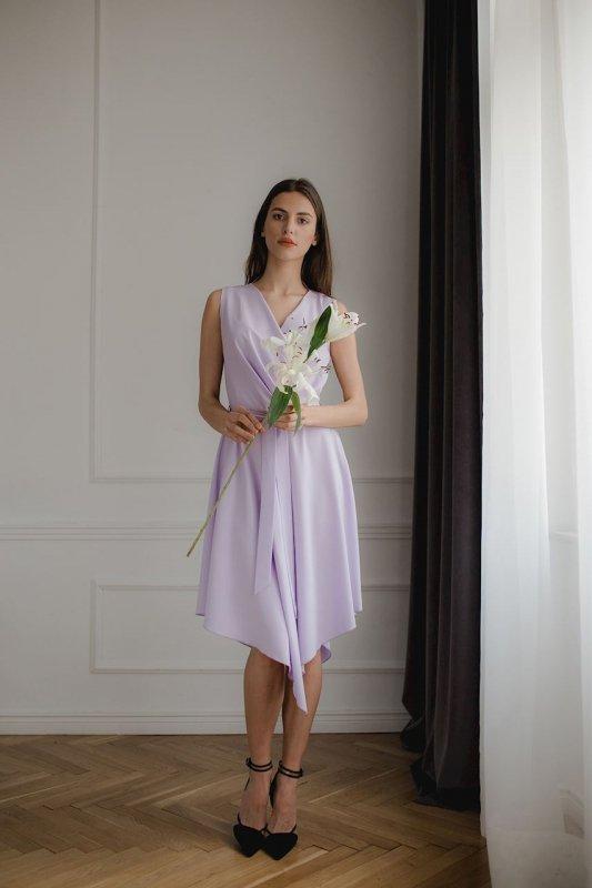 Sukienka L080 Fiolet S
