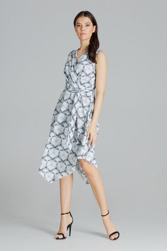 Sukienka L080 Wzór 114 S