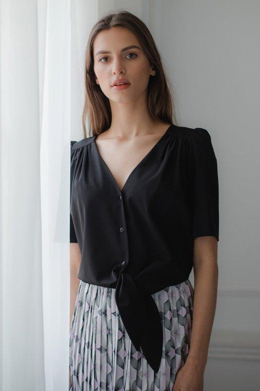 Bluzka L081 Czarny L