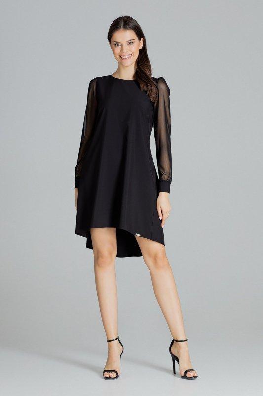 Sukienka L082 Czarny S
