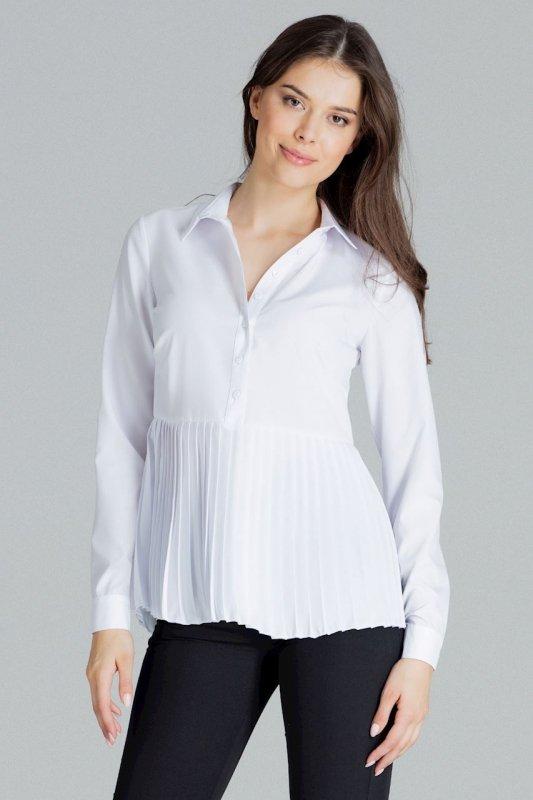 Bluzka L089 Biały S