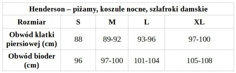 PIŻAMA DAMSKA WISHES 38249 DR