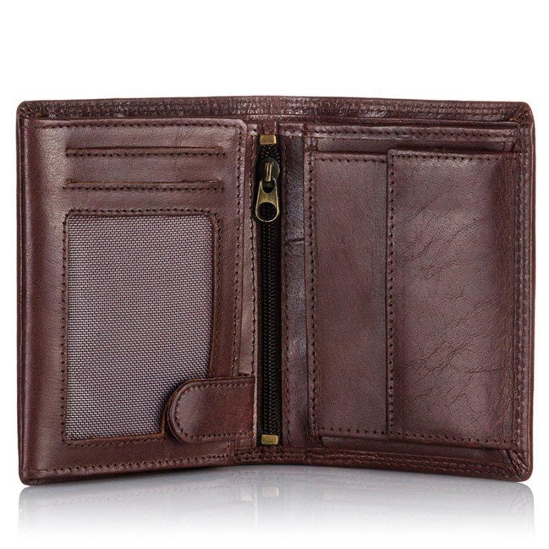 P Skórzany portfel męski TillBerg 503 Indiana Jon