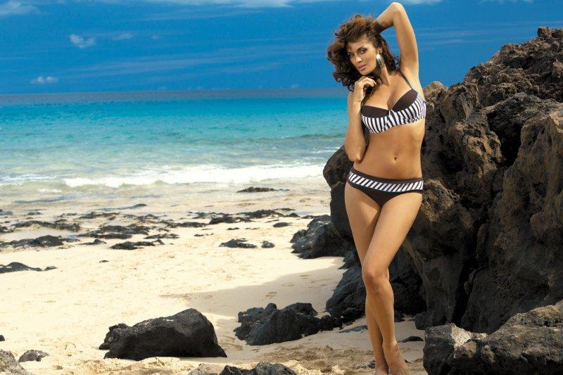 Kostium kąpielowy Brooke Sepia M-225 Brązowy (15)