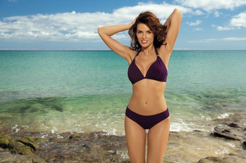 Kostium kąpielowy Lauren Purple M-325 śliwka (85)