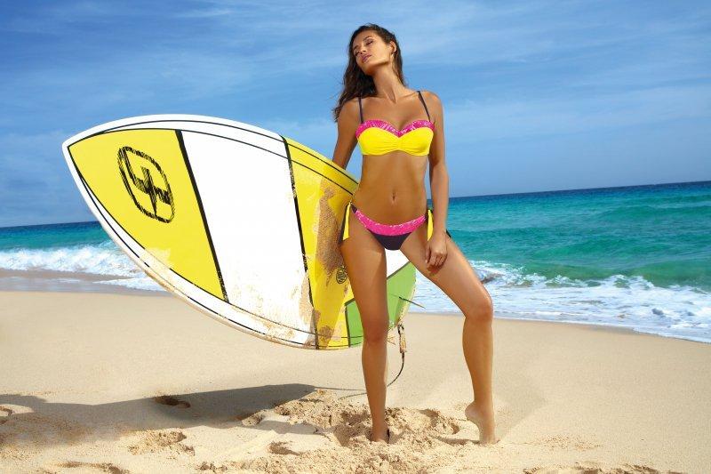 Kostium kąpielowy Felicia Squalo-Limon M-491 (2)