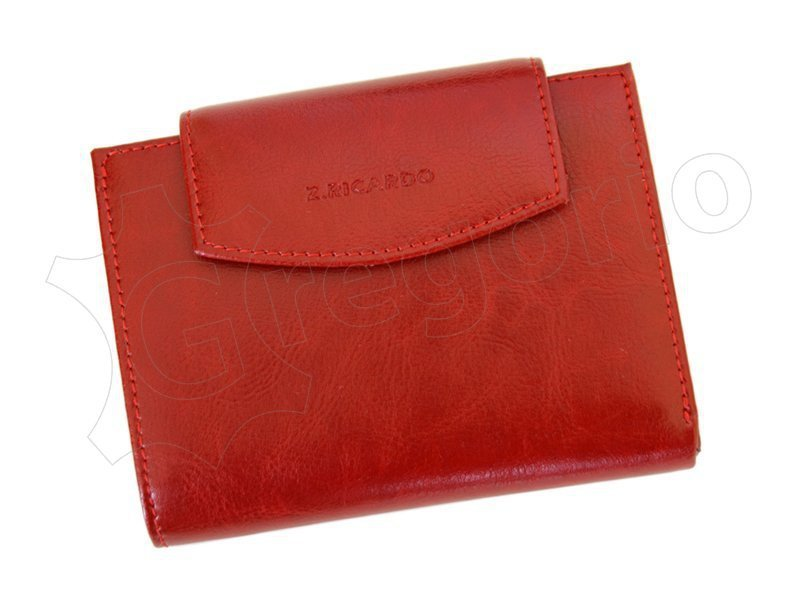 Damski Skórzany portfel Z.Ricardo 85 Bordo