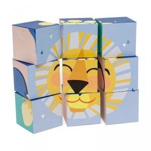Klocki puzzle 9 elementów - Słoneczny Dzień