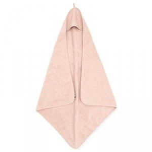 Jollein - Ręcznik kąpielowy z kapturkiem 75 x 75 cm FROTTE PALE PINK
