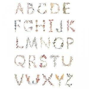 Plakat  do pokoju dziecka Alfabet - mały -  Mushie