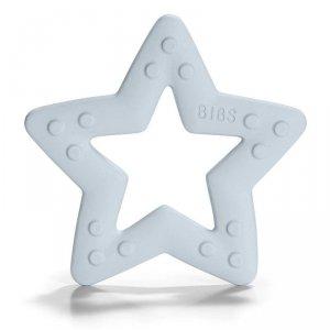 Gryzak dla niemowlaka -  BIBS Baby Bitie GWIAZDA Baby Blue