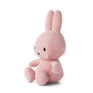 Sztruksowy jasno- różowy Królik przytulanka 33 cm - Miffy