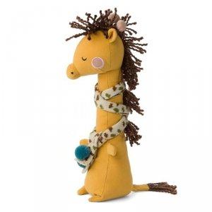 Przytulanka dla dziecka Żyrafa Danny w szaliczku 30 cm - Picca LouLou