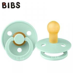 Smoczek uspokajający dla dziecka kauczuk Hevea - BIBS COLOUR NORDIC MINT S