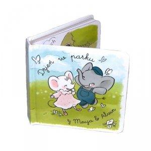 Kolorowa książeczka dla dzieci o przygodach Myszki i Słonika