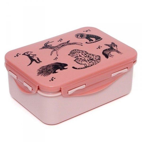 Pudełko  śniadaniowe - Lunchbox - różowe