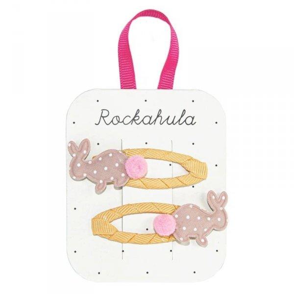 Rockahula Kids - spinki do włosów dla dziewczynki Hoppy Bunny