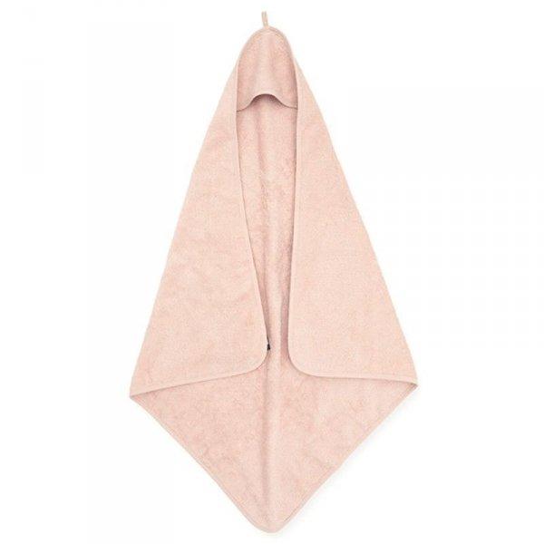Jollein - Ręcznik kąpielowy z kapturem 75 x 75 cm FROTTE PALE PINK