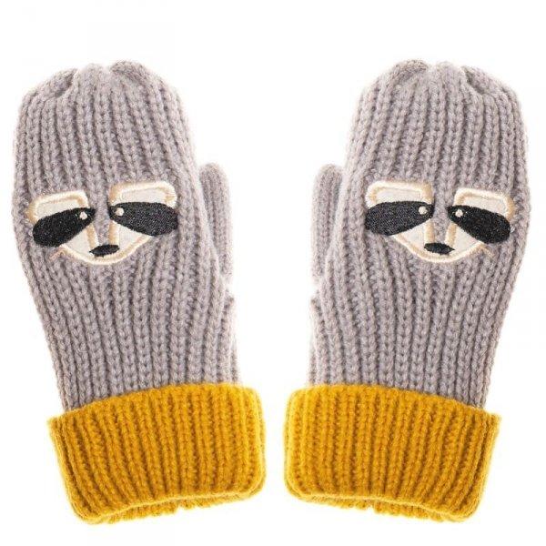 Rękawiczki zimowe dla chłopca Szop Ronnie 7 - 10 lat - Rockahula Kids