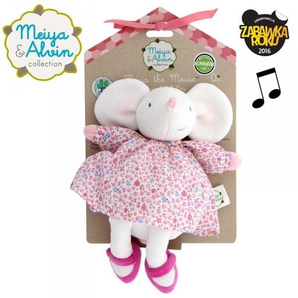Mięciutka lalka przytulanka Myszka - Meiya & Alvin