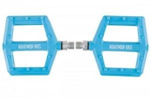 Pedały rowerowe plastikowe DARTMOOR Candy Pro niebieskie