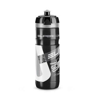 Bidon 750ml ELITE Super Corsa czarno-srebrny BPA FREE