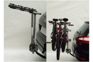 Bagażnik samochodowy na 3 rowery, na hak, ITALY, Peruzzo Arezzo 3R, uchylany