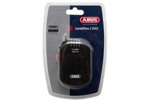 Zamknięcie ABUS CombiFlex 2503 linka zwijana na szyfr 120cm czarne