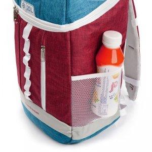 Plecak termiczny METEOR ARCTIC 20L czerwono-niebieski