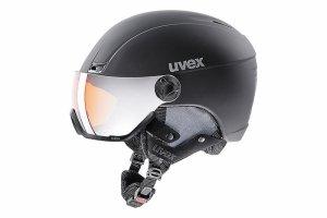 Kask UVEX HLMT 400 VISOR STYLE black mat 58-61 czarny mat