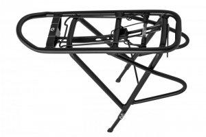 Bagażnik 26-28 aluminiowy regulowany HYL-58 mocowany do błotnika i ramy, czarny