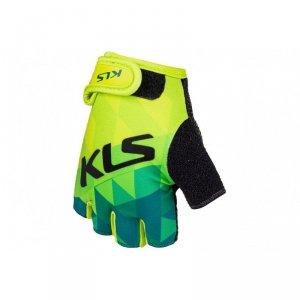 Rękawiczki KELLYS YOGI krótkie, LIME zielone L
