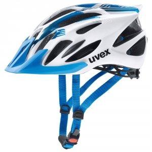 Kask UVEX FLASH white blue 57-61cm biało niebieski