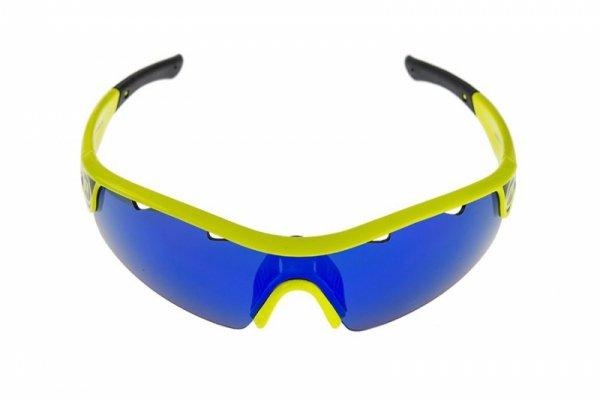 Okulary ACCENT STINGRAY zółte 2 pary soczewek