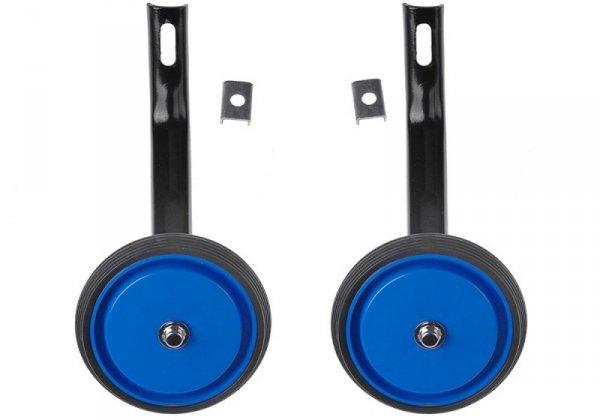 Kółka pomocnicze pełne z oponką 16 S niebieskie