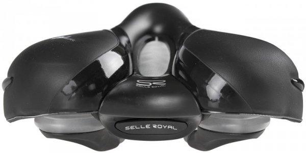 Siodełko SELLE ROYAL RESPIRO SOFT MODERATE 60st. żelowe + elastomery męskie