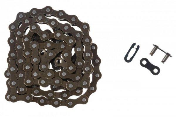 Łańcuch 106 ogniw NEXELO 1-bieg 1 rzędowy spinka