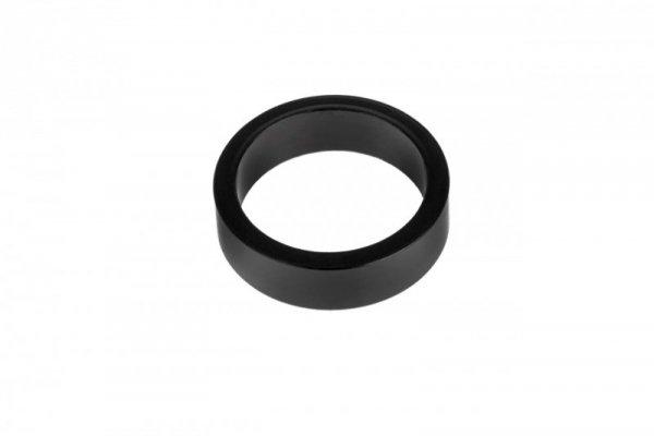 """Podkładka dystansowa NECO aluminiowa 1 1/8"""" 10mm czarna"""