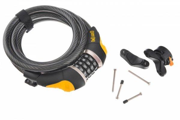 Zamknięcie ONGUARD Doberman 8031 12x1850mm, na szyfr, czarno-żół