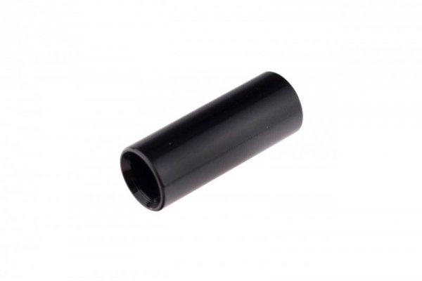 Końcówka pancerza przerzutki alum. CNC fi 4mm  czarny