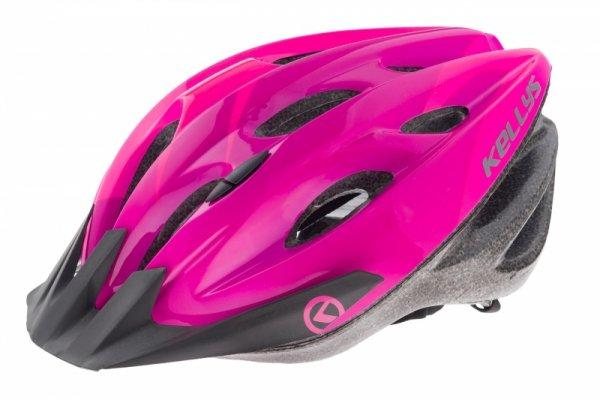 Kask KELLYS KLS BLAZE S/M 54-57cm różowo-fiolet-czar połysk 2018 /pink/