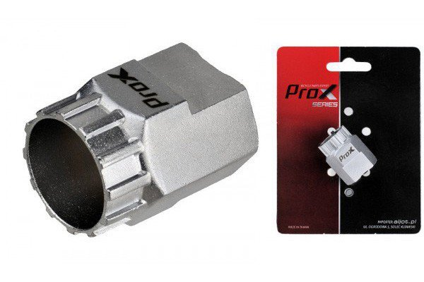 Klucz do kasety ProX chrom logo
