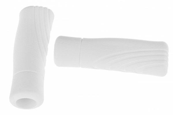 """Chwyty PIK-120mm """"BRAT"""" PVC białe"""