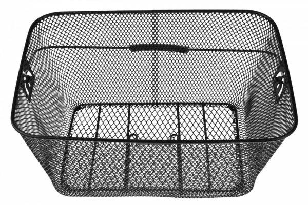 Koszyk na bagażnik siatka czarny 41x29x20cm czarny BK-11
